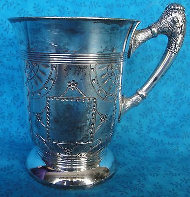 Antique Pairpoint Quadruple Plate Silver Cup Ornate 417