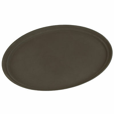 Carlisle Food Service Products Oval Grip Tray Toffee Tan