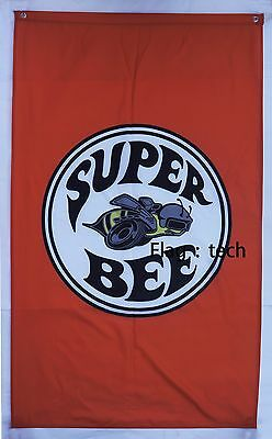 Super bee Flag Superbee car banner flags 3X5 Ft - free shipping