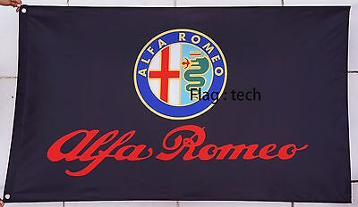 Alfa Romeo Flag Alfa Romeo car banner flags 3X5Ft - free shipping