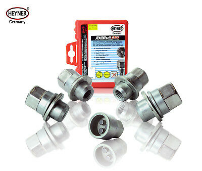 Toyota Prius 2005-on wheel locking nuts&bolts M12x1,5 anti-theft for alloys