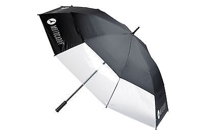 Motocaddy Clearview Double Canopy Golf Umbrella Auto Open - NEW
