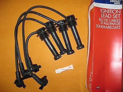 FORD ESCORT 1.6i,1.8i 16v(91-97)FIESTA 1.8i(89-95) UNIPART IGNITION LEADS SET