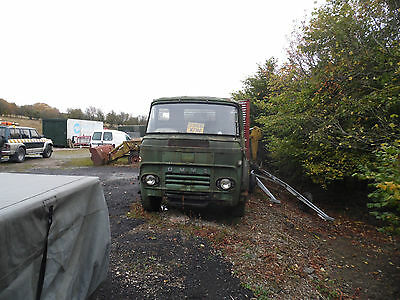 Commer 12 ton flat bed N/S front indecator, not Bedford