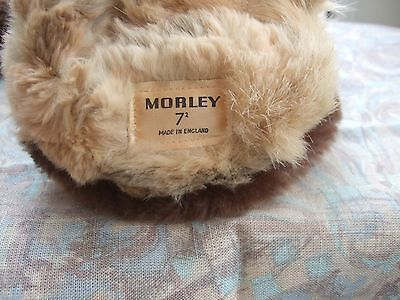 MORLEY leather and fur gloves