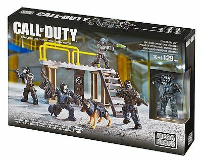 Mega Bloks Call Of Duty Covert Ops Cnf14 New In Box & 100% Complete Minus 3 Figs