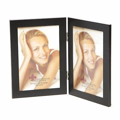 LAWRENCE FRAMES METAL Hinged Double Picture Frame - $18.99 | PicClick