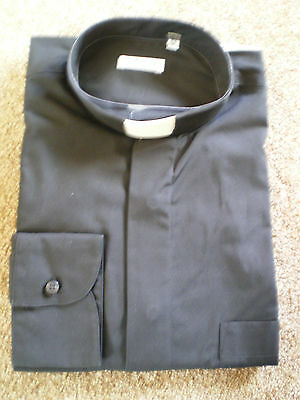 Various Black Clergy Shirts - End Of Lines