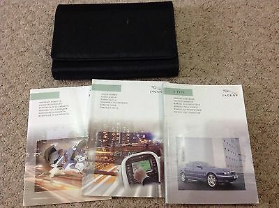 JAGUAR X-TYPE OWNERS MANUAL HANDBOOK  2003-2007 and TOUCH  screen nav AND WALLET