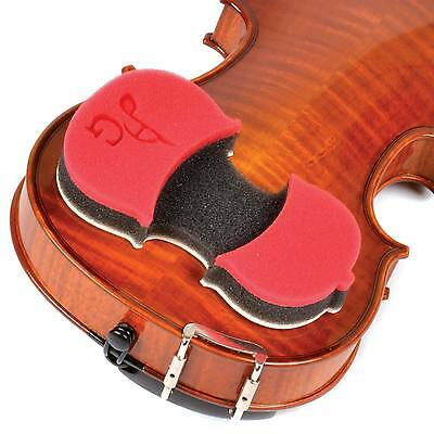 AcoustaGrip Protege Red Shoulder Rest for 1/8-1/2 Violin - FAST SHIPPING!
