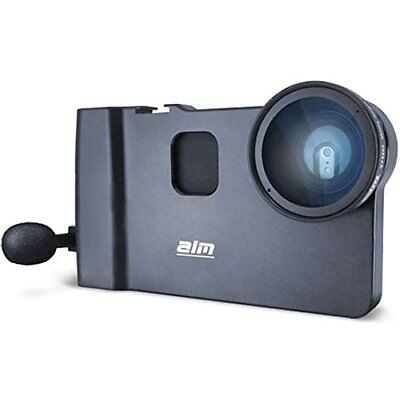 ALM mCAMLITE Stabilizer Mount with Video Lens & Mic for iPhone 6 Plus/6S Plus