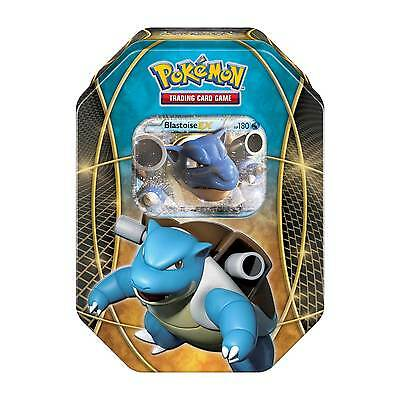 Pokemon TCG Power Trio Blastoise EX Tin