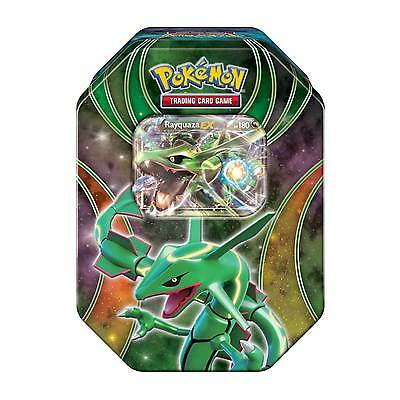 Pokemon TCG Power Beyond Rayquaza EX Tin