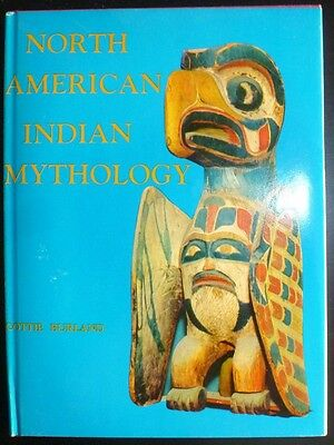 1973 North American Indian Mythology HC Tribal Art