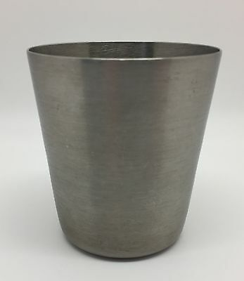 Vintage U.S. Military Medical Corp Stainless Steel 6 ounce Cup, Vollrath (RF559)