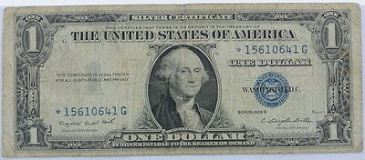 1957 Series US $1 One Dollar Star Note Silver Certificate Small Note P254073