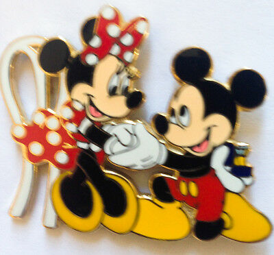 Disney Pin 2815 Engagement - Mickey proposes to Minnie Mouse Pin Ring Wedding