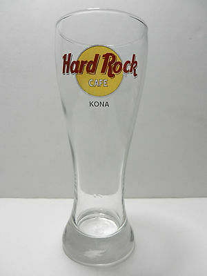 Hard Rock Cafe Kona Hawaii 16 ounce Lager Beer Glass