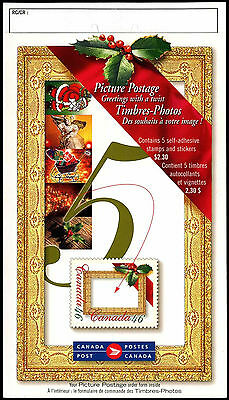 Canada 2000 Picture Postage Christmas Greetings Stamp Booklet MNH #C38629