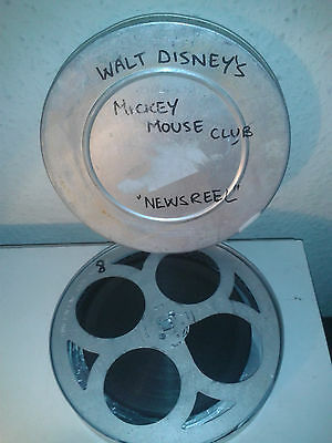 Mickey Mouse Club Newsreel - 16Mm Black And White Sound Film Movie