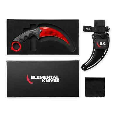 Elemental Knives Ruby Real CSGO Knife Skin Counter Strike CS GO