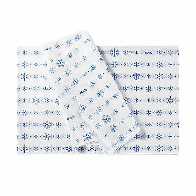 """Holiday-Themed eBay Branded Tissue Paper: 20""""x30"""", Lot of 50 Sheets"""