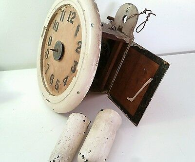 Antique black forest wall clock .for restoration.