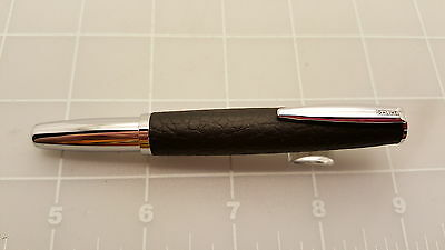 Judd's NEW Online Leather Inspiration Black Fountain Pen - Broad