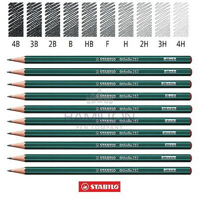 STABILO OTHELLO 282 PENCIL - Top Quality Pencils available in 10 grades!