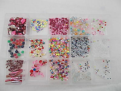 Mixed Lot Of Beads For Jewellery Making/ Craft Supplies