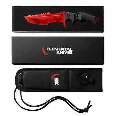 Elemental Knives Ruby Real Huntsman CSGO Knife Skin Counter Strike CS