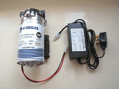 Reverse Osmosis 150GPD  Booster Pump Complete Marine Fishtank RO