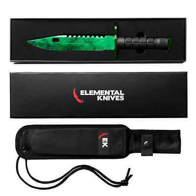 Elemental Knives Emerald CSGO Knife Skin Counter Strike CS