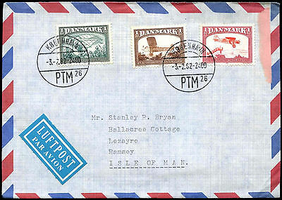Denmark 1982 Commercial Air Mail Cover #C38775