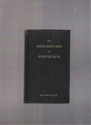 The Consolidated Code Of Operating (Railroad) Rules, 1967