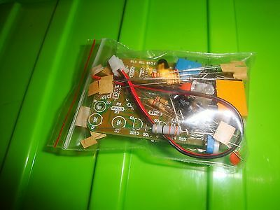 DIY kit infrared proximity switch for soldering with PCB and parts