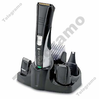 New Remington PG350 Rechargeable Nasal Nose Ear Hair Trimmer Shaver Grooming Kit
