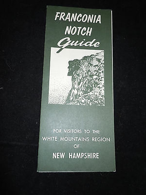Franconia Notch Guide New Hampshire Brochure