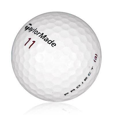 24 TaylorMade Project (a) Mint Recycled Used Golf Balls  SUPER VALUE!!