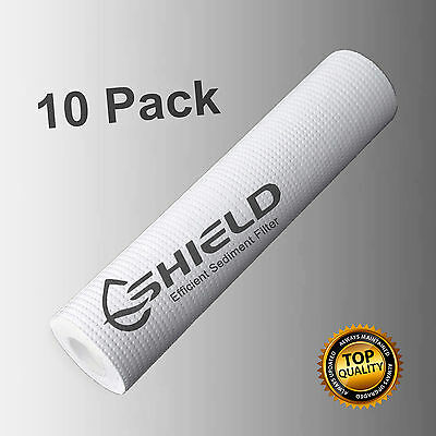 "10 x 0.5 Micron Sediment Water Filter Replacement Cartridges 10"" x 2.5"""