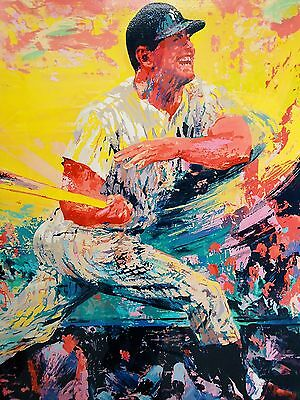 Awesome Mickey Mantle 13X19 Print