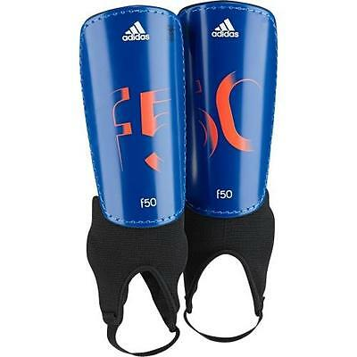 Adidas F50 YOUTH SHINGUARD with Ankle Sock Kids - Small (Age:3 - 5) - Blue