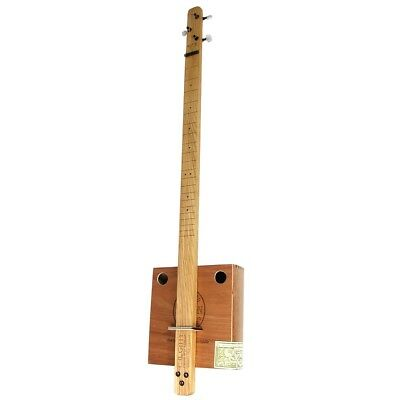 """""""Pure & Simple"""" 3-String Cigar Box Guitar Kit Complete with Parts and Hardware"""