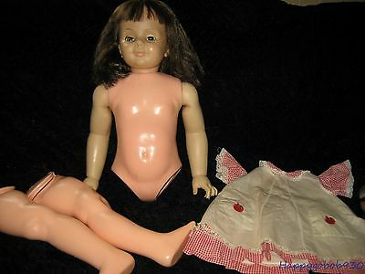 Vintage 1959 Ideal Patti Play Pal Doll Needs TLC or for Parts Original Outfit