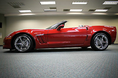 2013 Chevrolet Corvette Grand Sport Convertible 2-Door 2013 CORVETTE GRAND SPORT Z16 3LT 1 OF 241 NAVIGATION CHROME WHEELS VERY RARE!!