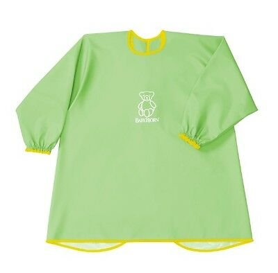 BabyBjorn Eat and Play Smock (Protects Against Spots & Spills) - Spring Green