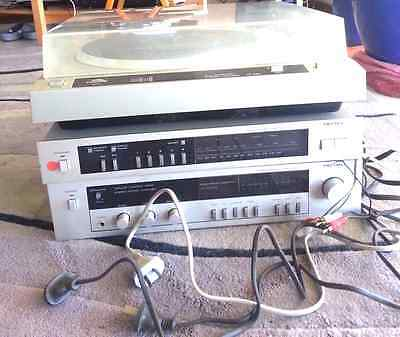 Rotel RT-840 Turntable, Synthesiser AM/FM Tuner and Integrated Stereo Amplifier