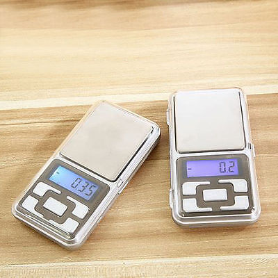 200g/0.01g 500g/0.1g Gram Balance Weight Electronic Digital Jewelry Pocket Scale
