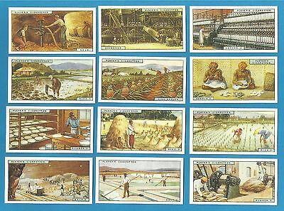 cigarette cards..Players - PRODUCTS OF THE WORLD  - mint condition full set.