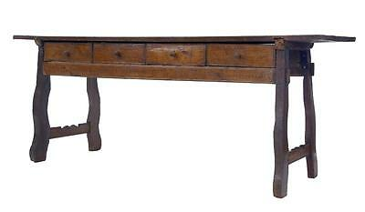 18Th Century Spanish Chestnut Serving Table